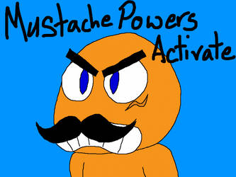 Mustache Power by VGJustice