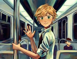 subway run-in