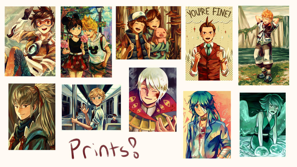 Prints And Buttons by Fenori