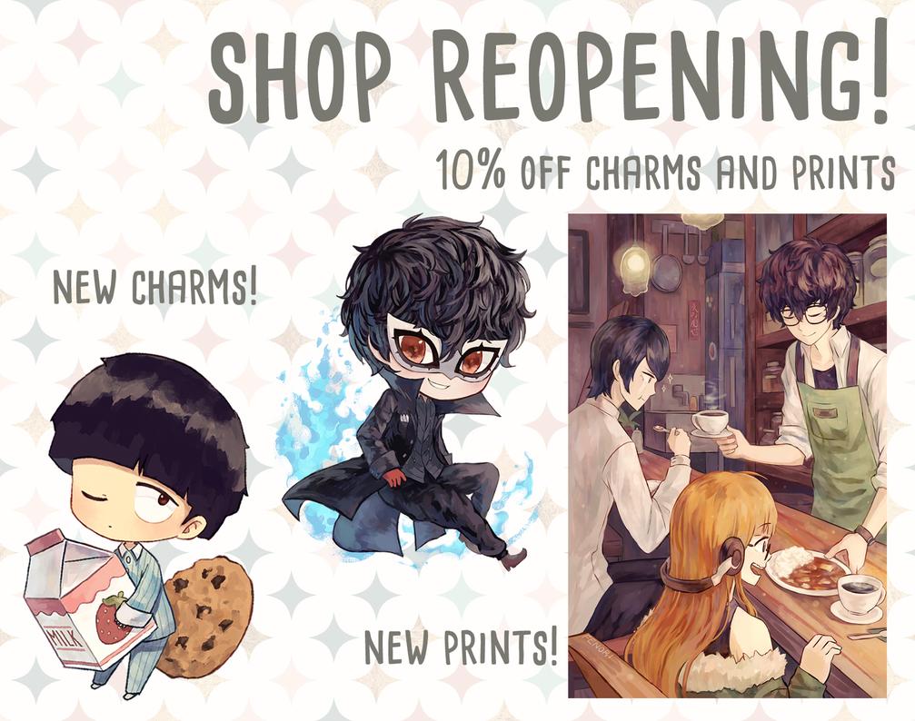 Shop Reopening by Fenori