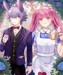 {CLB} Ashe and Hilda in Wonderland~