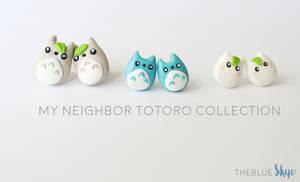 Chibi Totoro Earring Collection