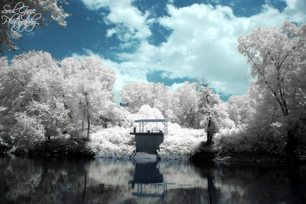 Green River Infrared 2 by GothicAmethyst