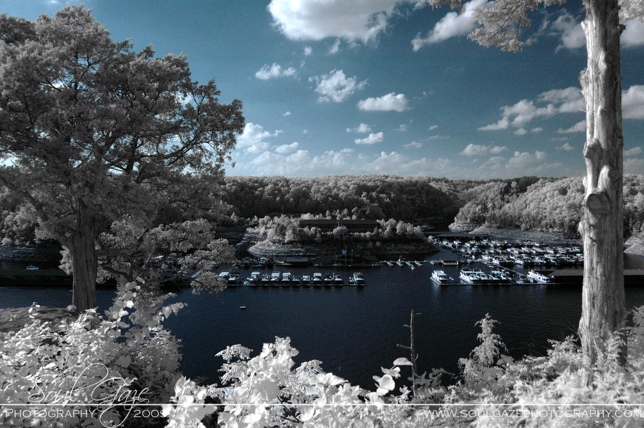 Lake Cumberland Infrared 2 by GothicAmethyst