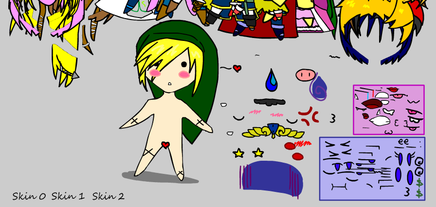 Link Dress-Up Game by NarutardST on DeviantArt