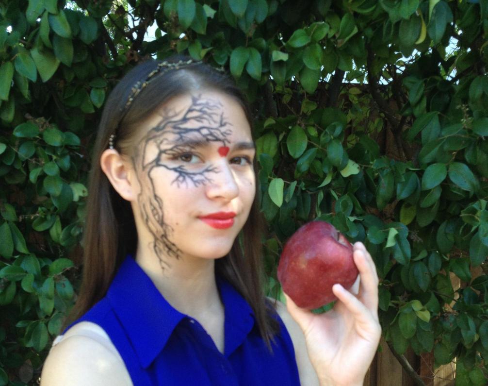 Apple Tree by paintedinblackwhite