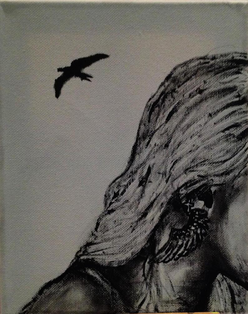 Flight by paintedinblackwhite