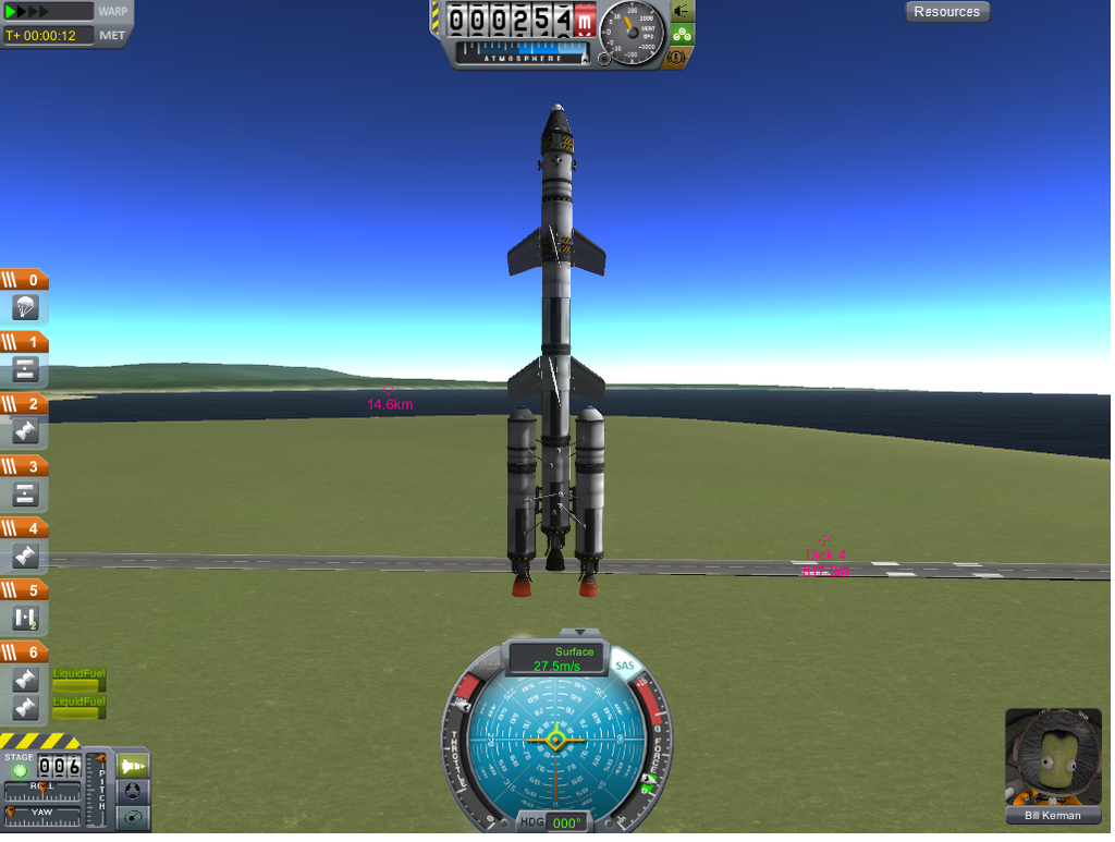kerbal how to avoid rocket crash