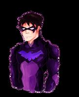 Nightwing by lenaaa714