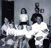 family before fire - 1960 by emmy-stock