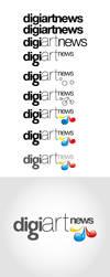 DigiArtNews Logo by furkanzararsiz