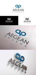 Aegean Pharma Logo by furkanzararsiz