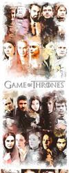 Game of Thrones Characters by furkanzararsiz