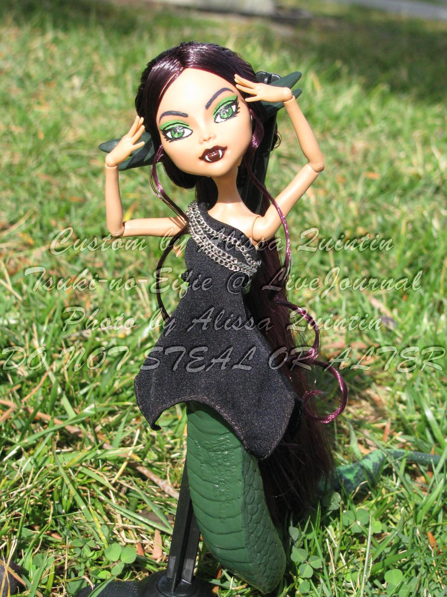Nami Lamia - Monster High OC by stormfaerie