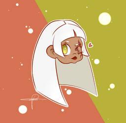 Furia's Chibi Headshot by BelmariaWorld