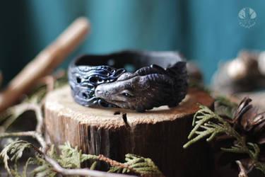 Dragon bracelet by AmiNezumi