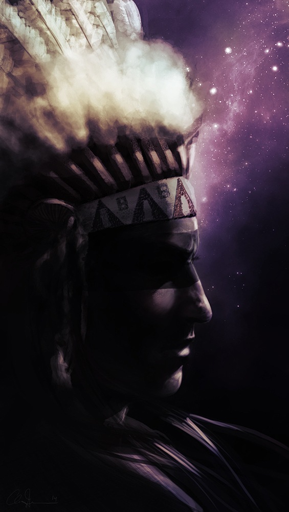 You Show Great Spirit by chitobein