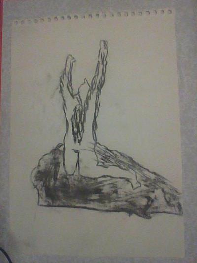 dibujos al carbon. Charcoal_drawing_by_shiratori30-d89ld0m