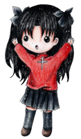 Chibi Rin by luinelle