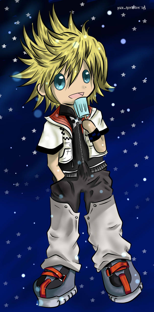 Roxas by luinelle