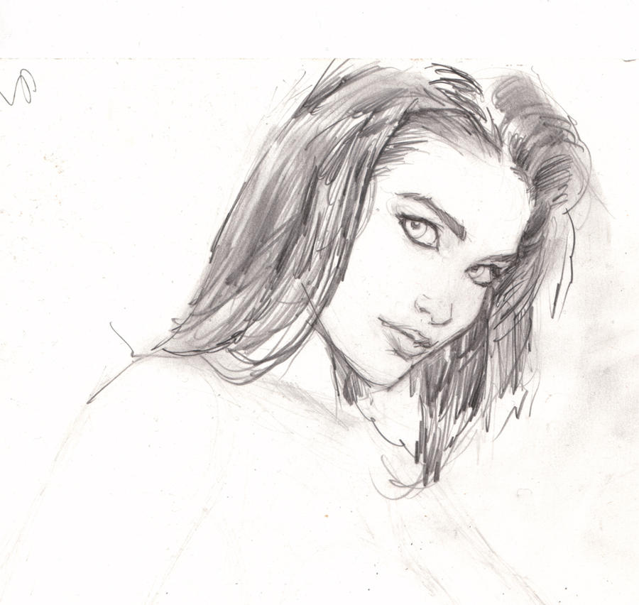 Drawings of a girl