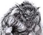 Wolf D Sketch