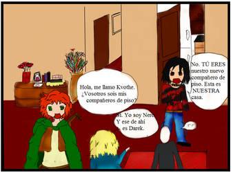 La llega de Kvothe by ReisenDreams