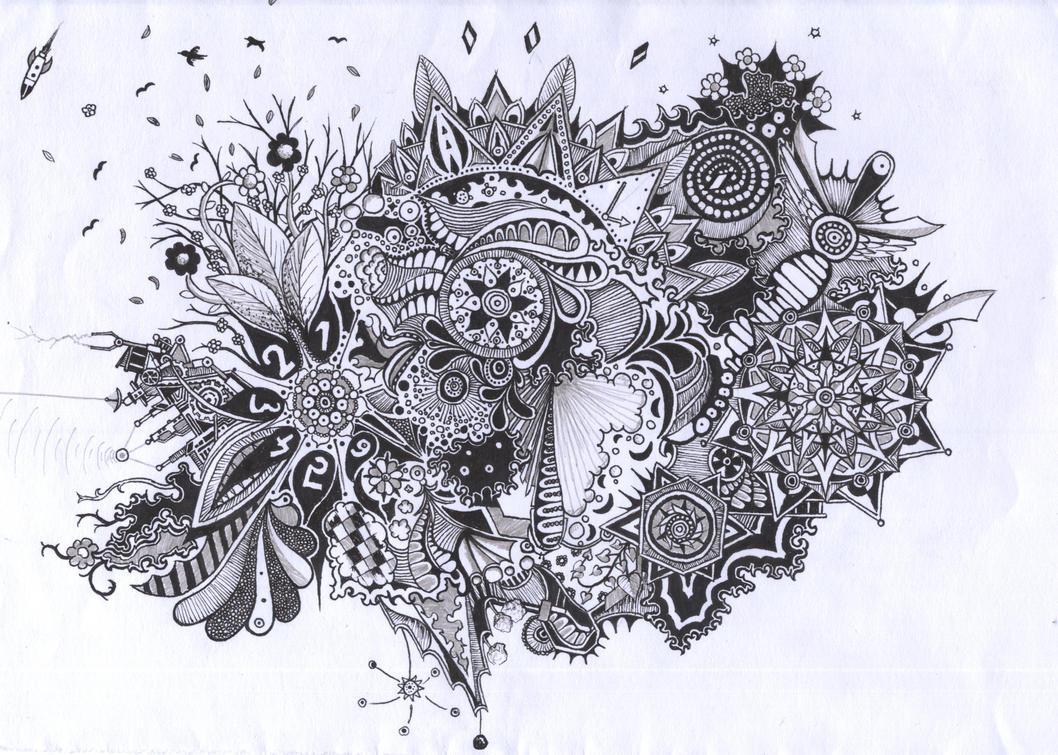 Random Doodle #6 by oyozZ