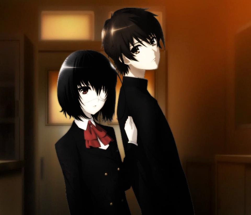 Mei Misaki and Kouichi Sakakibara by AntonioRyuzaki on ... Another Kouichi And Misaki