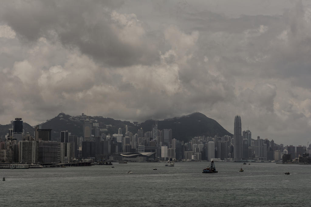 Hong Kong Victoria Harbour by intel-4004