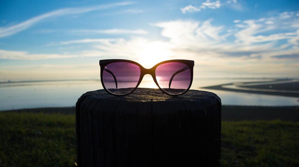 Sunglasses Sunset by intel-4004