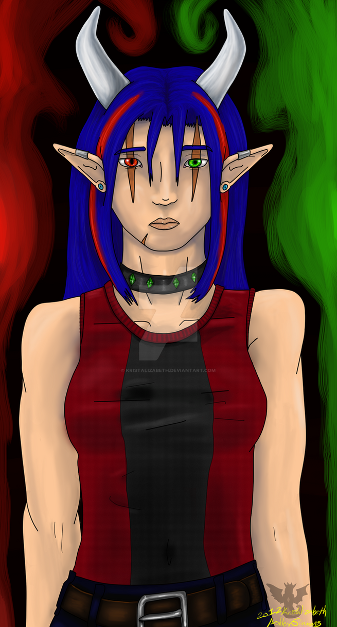 Kris's Portrait by Kristalizabeth