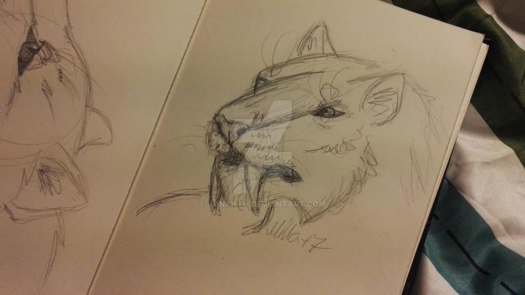 Sabertoothcat by jonanth