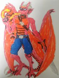 Drake Maza (Dragon form)