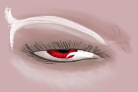 Dunmer Eye by HarraArial