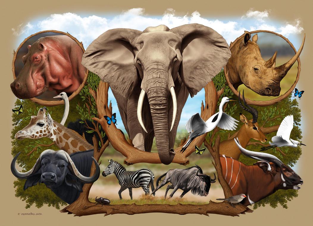 Africa (1) by Deviantferrick
