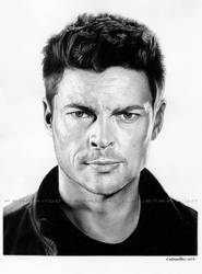 Karl Urban by Deviantferrick