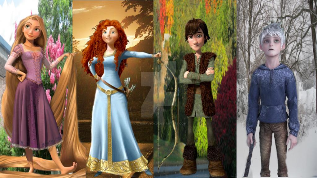 The Big Four - Seasonal Guardians by KatrinaLyoko