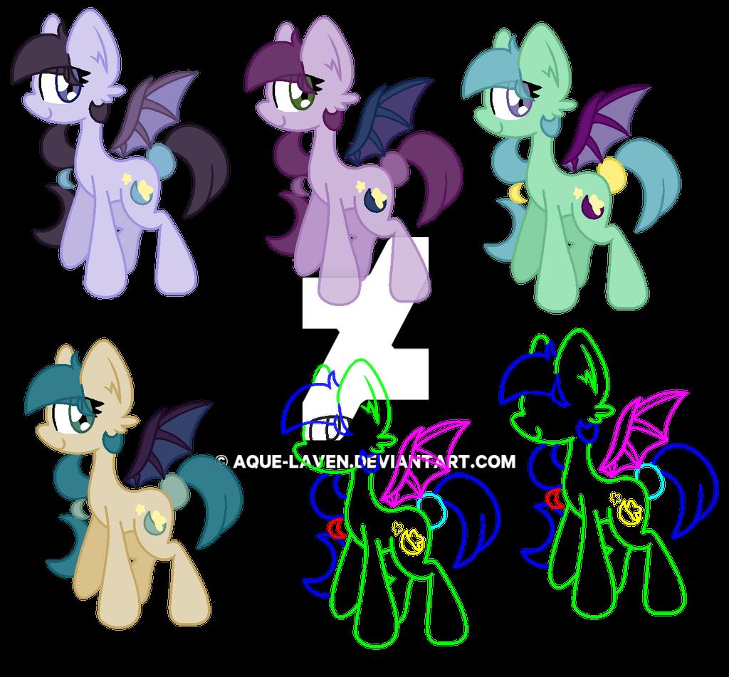 bat color schemes by aque laven - Bat Picture To Color