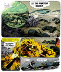 Apocalypse War page 275 colored