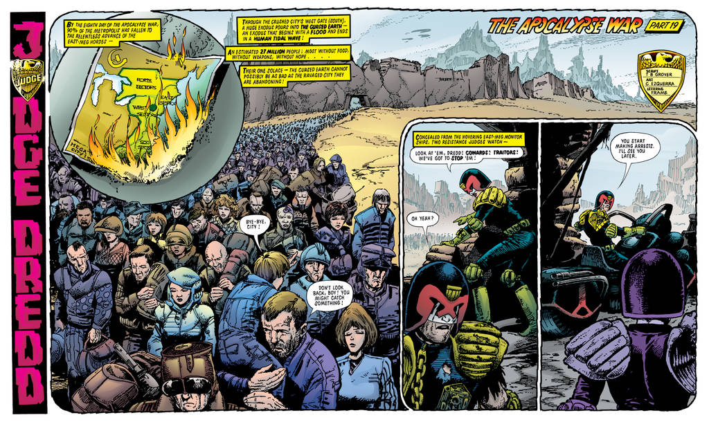 Apocalypse War 346+347 colored by tommullin