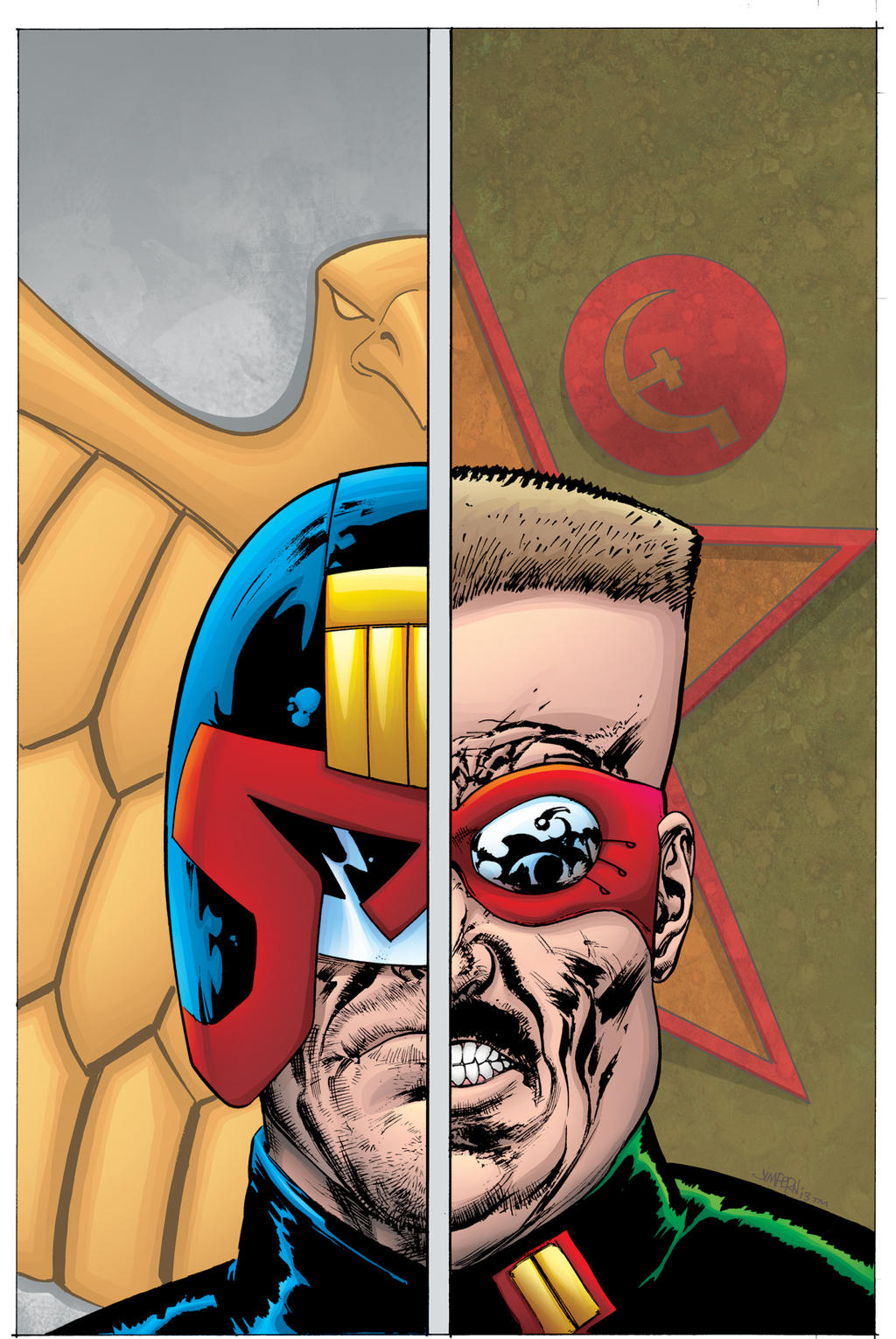 Judge Dredd Classics #8 cover