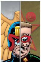 Judge Dredd Classics #8 cover by tommullin