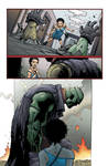 Seven Soldiers: Frankenstein #1 page16 colored