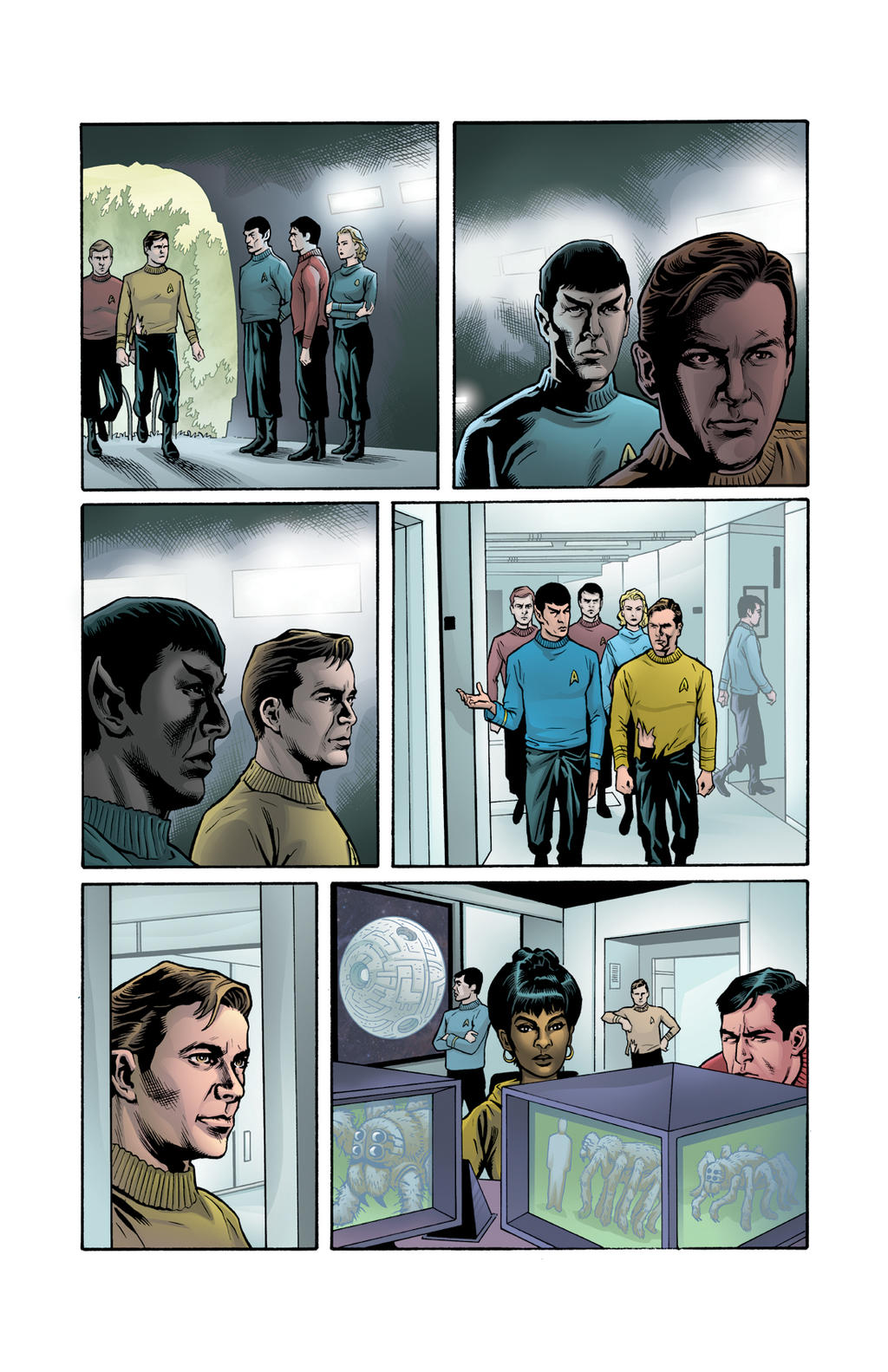 Star Trek: Mission's End #1 page 8