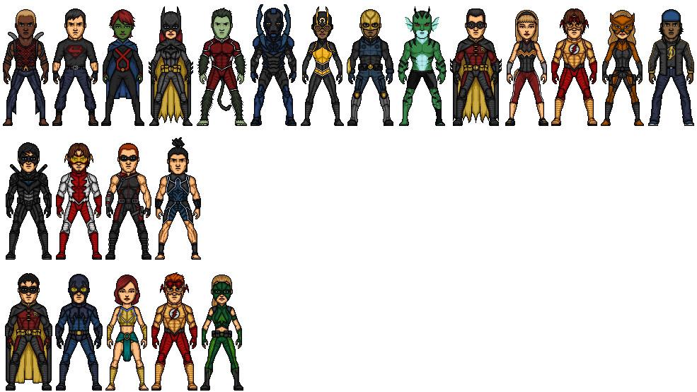 The Team Season 2 by KnightHawk93