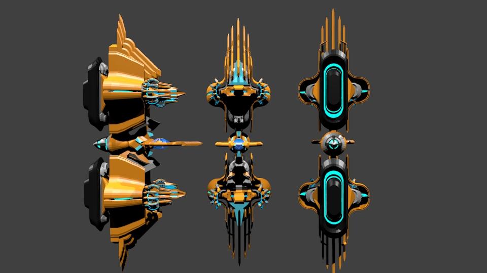 Arktech battlestar by 87rinehart