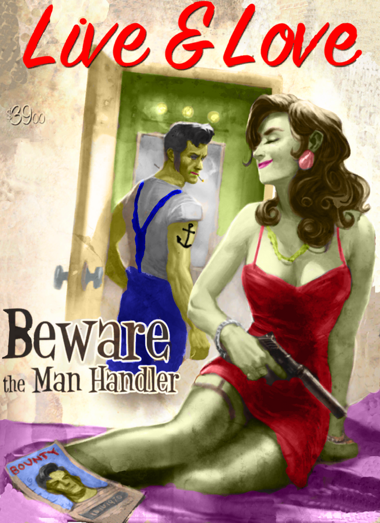 Beware the Man Handler! by MrPapaya