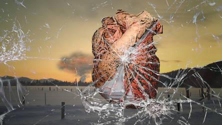 Heart of Broken Glass, version 2 by MrPapaya