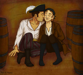 The Gay Pirates by Rupee